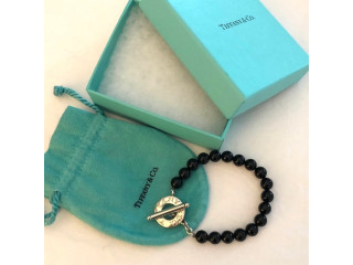 Bracelet Tiffany & co black onyx orig