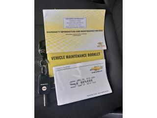 Chevrolet Sonic 2014 Automatic