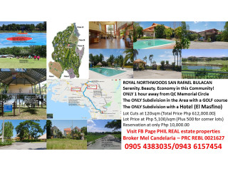 #royal northwoods budget residential golf lots near manila