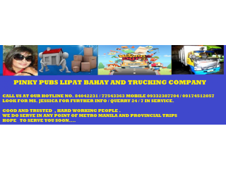 PINKY PUBS LIPAT BAHAY AND TRUCKING COMPANY