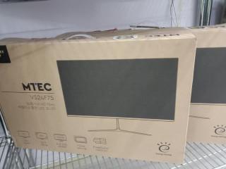 """MTEC 22"""" LED MONITOR"""