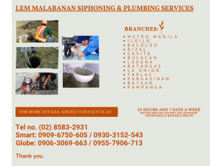 Quezon city malabanan siphoning septic tank services /