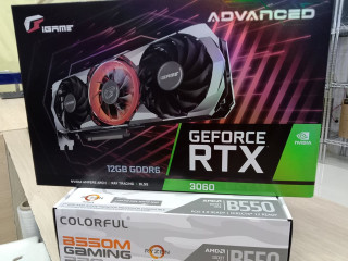 ADVANCED GEFORCE RTX 3060 12GB/COLORFUL B550M GAMING PRO