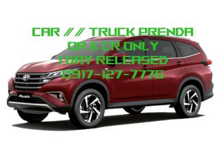 TRUCK or CAR PRENDA