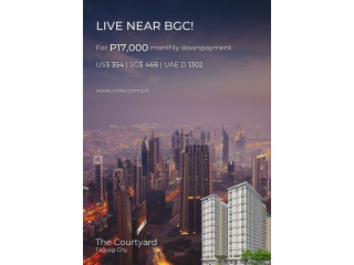 Condo for Sale at The Courtyard in Taguig City