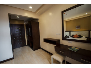For Rent RFO 1 BR 36sq.m Fully Furnished with Free Wifi,Parking,Skycable