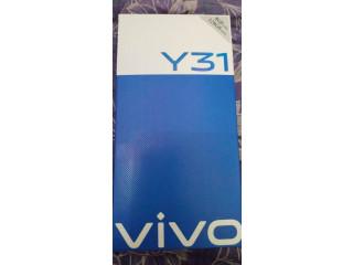 Vivo Y31 (Racing Black)