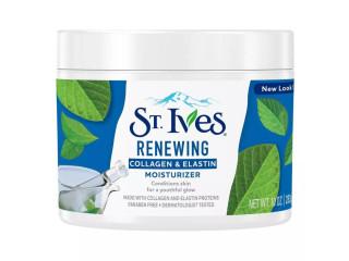 St Ives Collagen and Elastin Renewing Face Moisturizer 10 oz