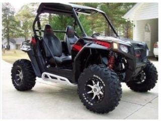 Great for outdoor Fun or Farm Transportation and Security Service Vehicle.