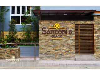 Fully Furnished 2 BR 60sq.m with Free Housekeeping,Cable is Ready For Rent in Santoni's Place Cebu City
