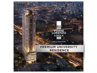 Torre Lorenzo Loyola Condo in QC near Ateneo UP