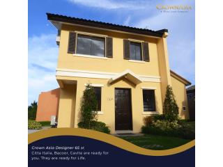 3 bedroom House & Lot in Crown Asia Citta Italia (Designer 65)