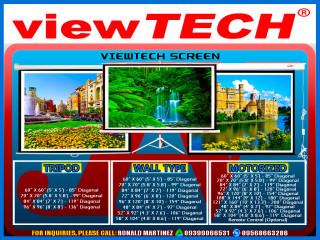 Viewtech projection Screen Motorized