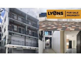 4-Storey Mixed-Used Commercial and Residential Building for Sale in Pasig City