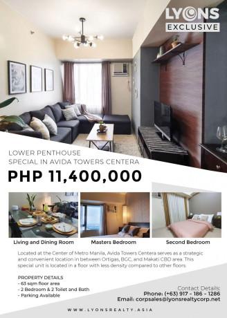2br-condominium-unit-for-sale-in-avida-towers-centera-mandaluyong-big-0
