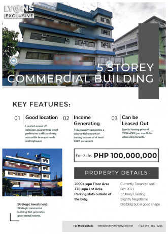 5-storey-commercialresidential-building-for-sale-in-caloocan-city-big-0