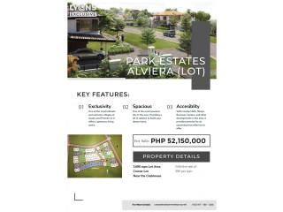Residential Lot (Corner Lot) for Sale in Park Estates Alviera, Porac, Pampanga