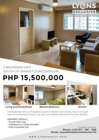 2br-condominium-unit-for-sale-in-south-of-market-private-residences-bgc-taguig-big-0
