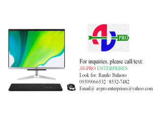 ACER ALL IN ONE C th Gen i5 256GB SSD + 1TB HDD with Office for Home and Student