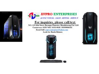 ACER PREDATOR P03 i5 10400 RTX2060 PO3-620 i5 10400 8GB 256GB+2TB RTX 2060