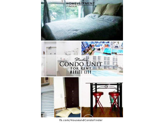 Studio for Rent in Makati City. Furnished Condo for rent in Makati City